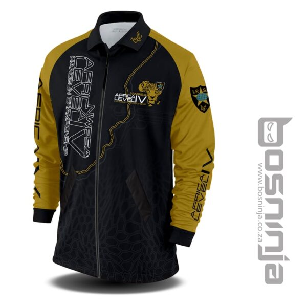 africa champs padded jacket