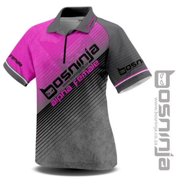 alpha female golf shirt